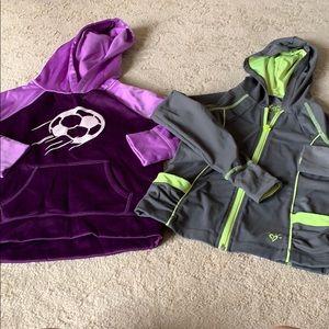 Bundle of 2 justice brand sweatshirts, 7